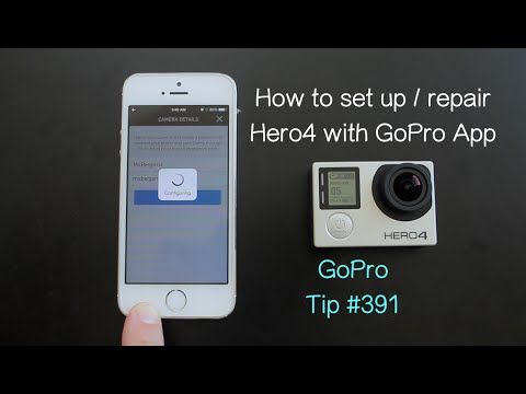 How To Set Up / Pair Hero4 With GoPro App - GoPro Tip #391
