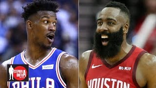 Jimmy Butler and James Harden have been talking this offseason | Stephen A. Smith Show