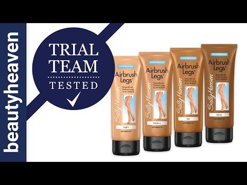Trial Team Tested: Sally Hansen Airbrush Legs Makeup