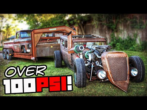 Diesel Rod w/GOOSENECK Pushes Over 100PSI!