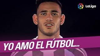 Yo amo el futbol por... Tony Sanabria, jugador del Real Betis