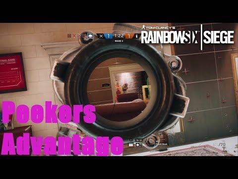Rainbow Six Siege | Peekers Advantage