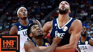 USA vs France - Full Game Highlights   FIBA World Cup 2019