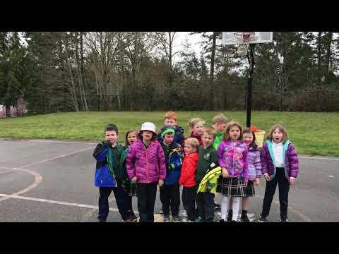 Kindergarten Running Progression and Tag