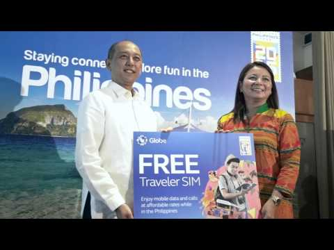 Globe boosts 'Visit the Philippines 2015' Campaign