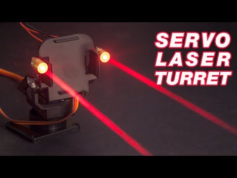 Arduino and Servos: How to Make a Laser Turret with XOD