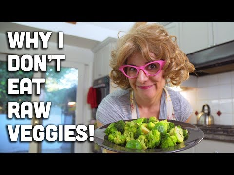Why I don't eat raw vegetables! + Are cooked vegetables healthy? - Mind Over Munch
