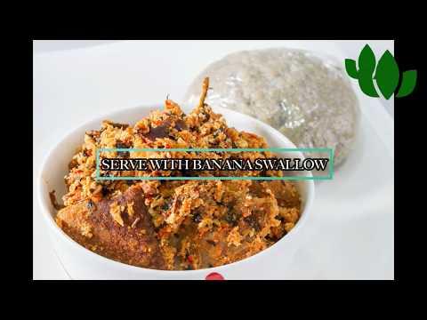 How to make make OILLESS EGUSI SOUP // Nigerian Recipe
