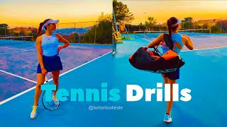 Tennis for Drills