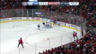 Justin Williams Score OT Winner To Take 3-2 Series Lead on Toronto - Maple Leafs vs. Capitals