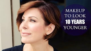 Simple Makeup Tips To Look 10 Years Younger