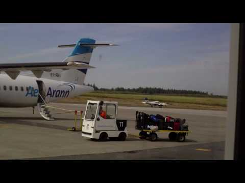 MY FLIGHT FROM WATERFORD TO BIRMINGHAM INTERNATIONAL AIRPORT THURSDAY SEPTEMBER 2ND PART 1