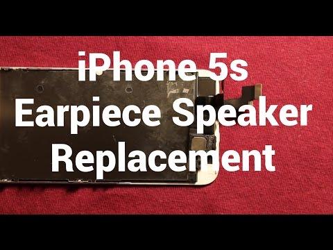 iPhone 5s Earpiece Speaker Replacement How To Change