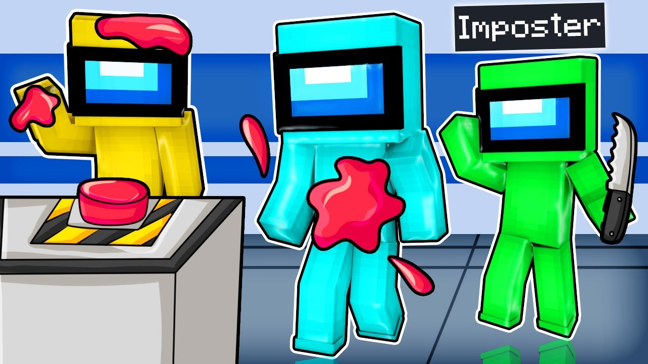 Finding the IMPOSTER in Minecraft Among Us!