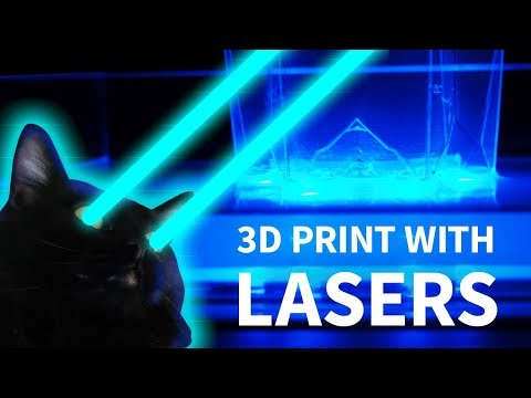 How To 3D Print with LASERS! (SLA)