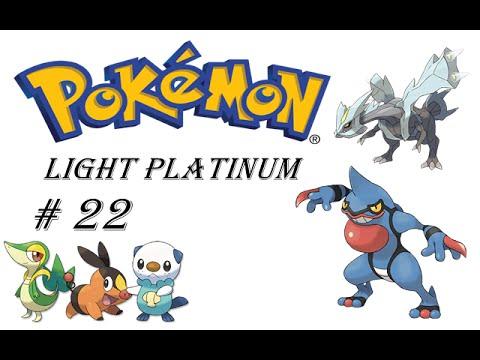 Pokemon Light Platinum # 22.Ginasio de Veneno Iniciais de Unova e kyurem