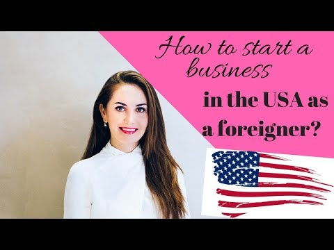 HOW TO START A BUSINESS IN USA LEGALLY (for non citizens)🔥🇺🇸