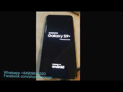 Bypass google account FRP lock Samsung Galaxy S9 Plus G9650 G9600