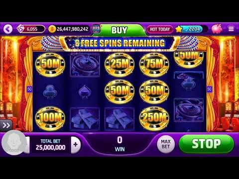 Slotomania coin grab feature won mega win jackpot