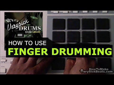 Beat Making   Finger Drumming