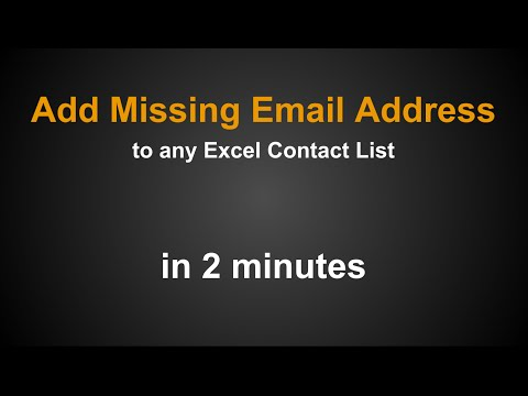 How to Find Email Addresses for Business Contact List with LeadResearcher Pro