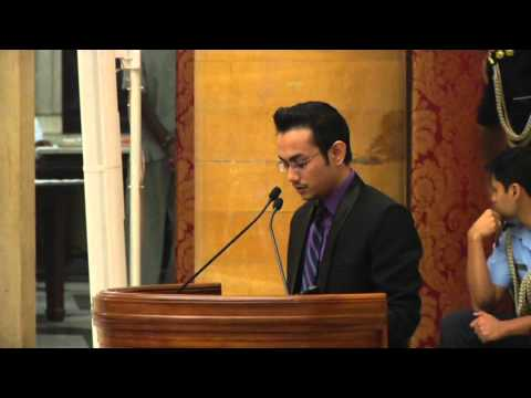 MEMBER BANGLADESH YOUTH DELEGATION CALL ON PRESIDENT - PART 1 - 24-10-13