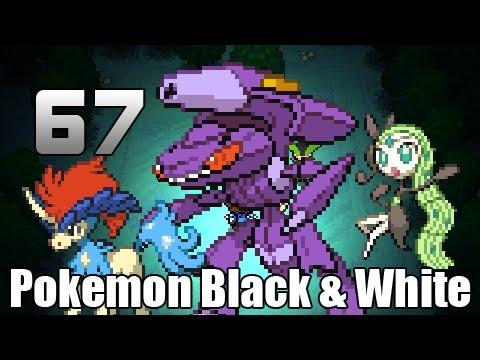 Pokémon Black & White - Episode 67 [Meloetta Keldeo Genesect Events]