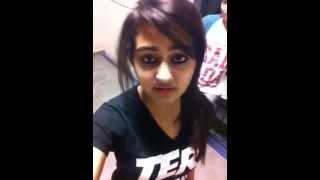 Cute Punjabi Girl Singing Song