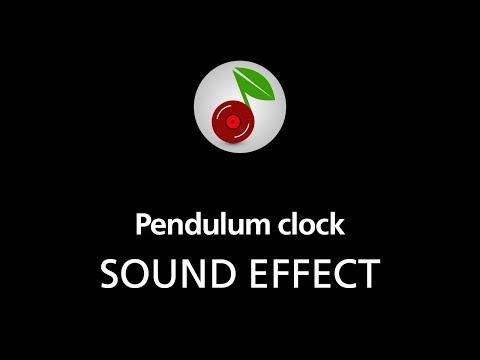 🎧 Pendulum clock LOOPED SOUND EFFECT