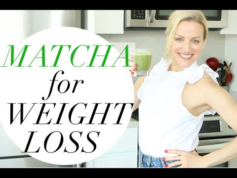 MATCHA FOR WEIGHT LOSS | TRACY CAMPOLI | HOW TO MAKE A MATCHA LATTE