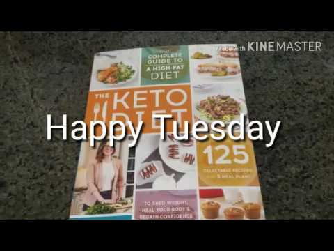4-11-17 Full Day of Eating #Keto | Book review