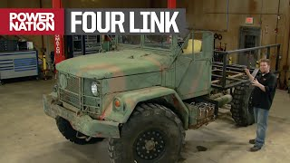 Adding 4 Link Suspension to a Bobbed Deuce - Xtreme 4x4 S6, E7