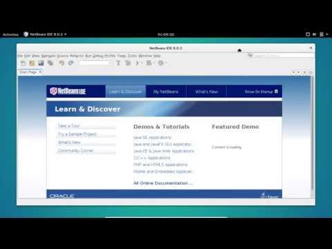 Install Netbeans IDE on Ubuntu GNOME 15.10