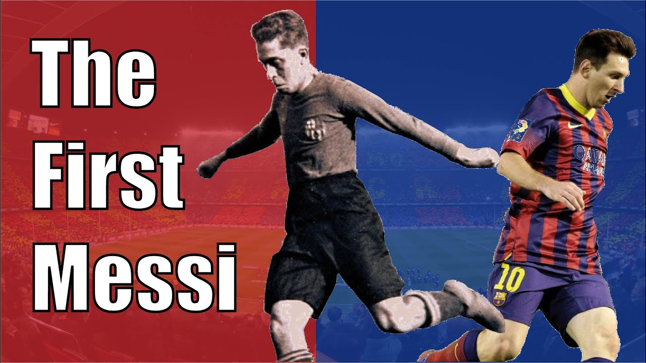The First Leo Messi in FC Barcelona History: Paulino Alcántara