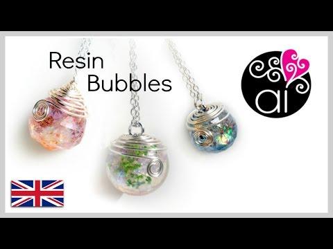 How to cast resin sphere | Tutorial Spheres | DIY Resin Bubbles