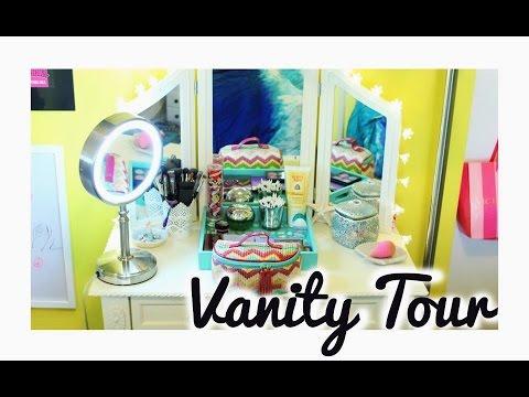 Vanity Tour // Storage & Organization!