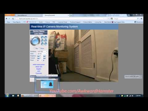 How to Access Foscam Wireless IP Camera From an iPhone, Android, & Internet (HD)