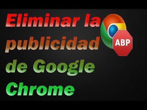 Quitar la Molesta Publicidad de Paginas de Internet con AdblockPlus ¡para google chrome!2014