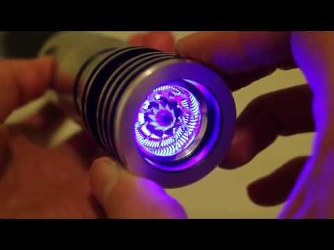 Darkside Engineering R2T-S2 Shredder lightsaber blade plug review (Imperial Royal Arms seller)