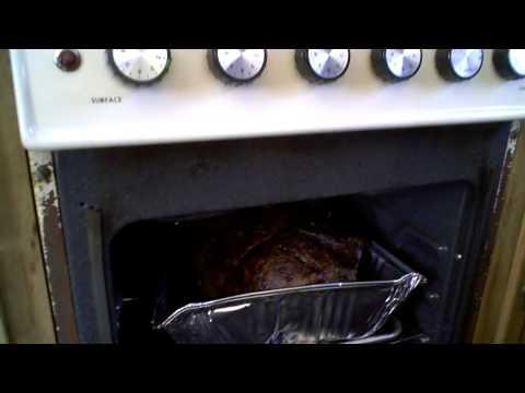 Scott's Prime Rib cooking