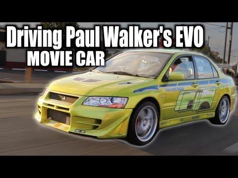 I got to Drive Paul Walker's EVO VII 2 Fast 2 Furious - Joyride Review