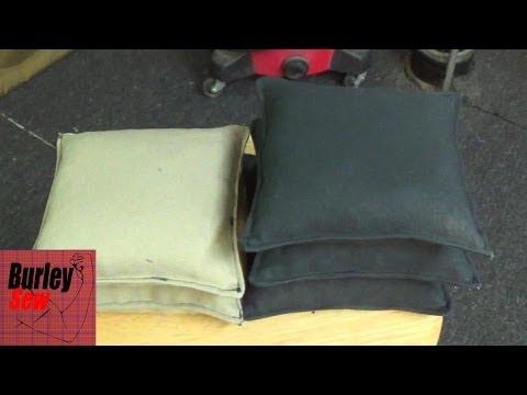 DIY Cornhole Bean Bag How To