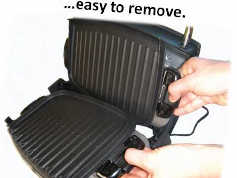 George Foreman Ez Clean Grill. See what this indoor grill has.