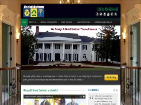 Atlanta General Contractors 404-620-4441 in Atlanta Ga