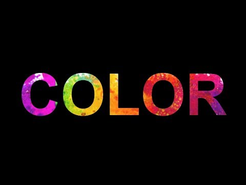 Pure CSS3 colorful animation text
