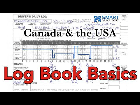 Log Books | Filling Out Form—Canada