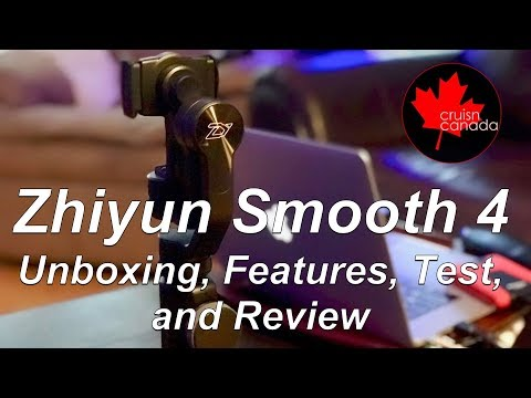 Best Mobile Gimbal? Zhiyun Smooth 4 | Unboxing, Features, Testing and Review