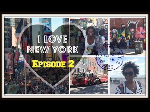 #VLOG - I LOVE NEW YORK - Episode 2 // Times Square - Coney Island - Williamsburg