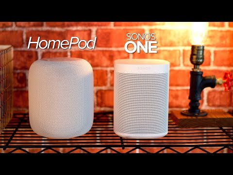 HomePod vs Sonos One(s) - Which smart speaker should YOU buy?