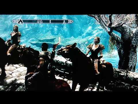 Skyrim PC Mods on Xbox 360 - Followers with Horses